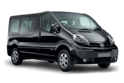 Car Hire Nissan Primastar 9 seater